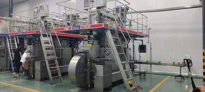 Used Shanghai PLS aseptic brick filling machine for juice/milk, 200 prisma square , 200 slim
