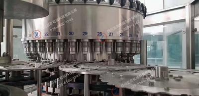 Used Newstar water filling line, capacity 24,000bph